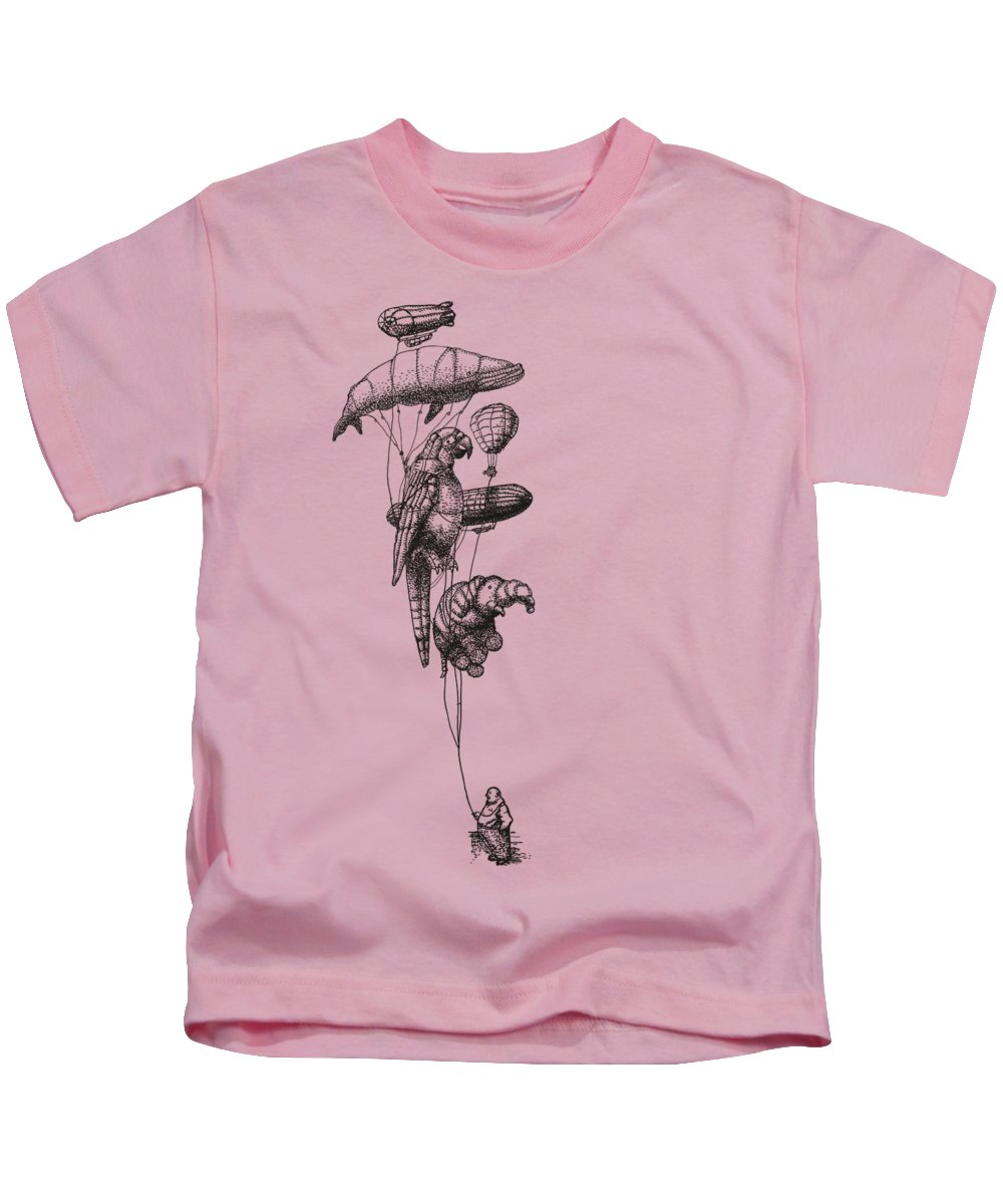 Hot Air Balloons Kids T-Shirts