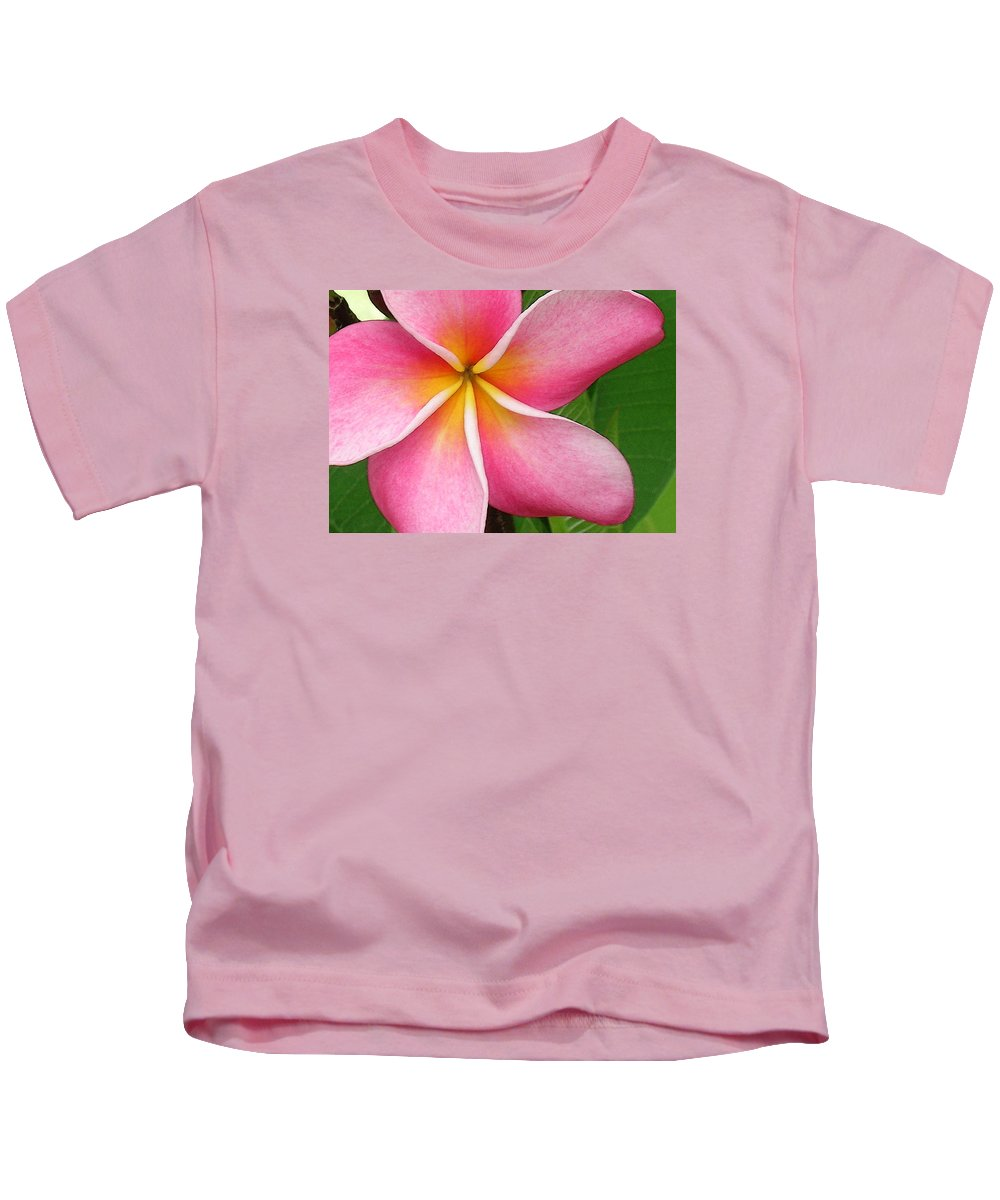 Hawaii Iphone Cases Kids T-Shirt featuring the photograph April Plumeria by James Temple