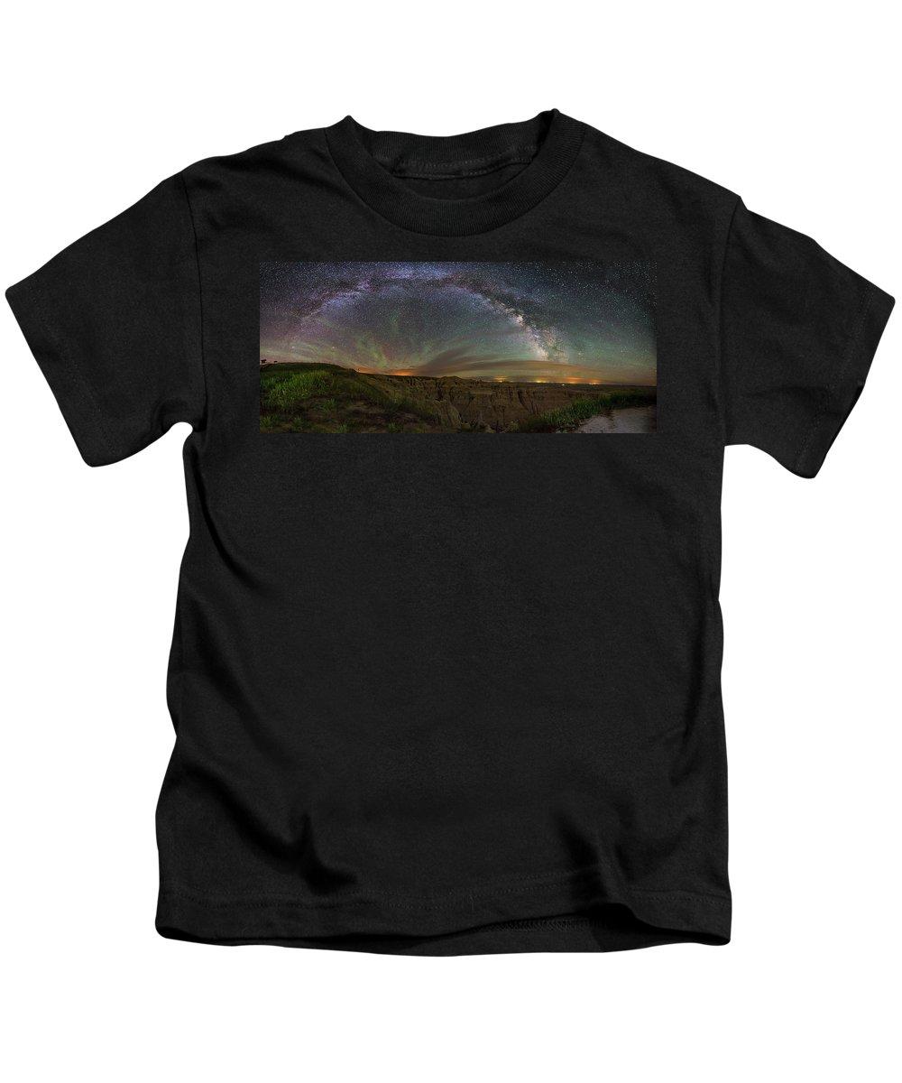 North Dakota Badlands Kids T-Shirts
