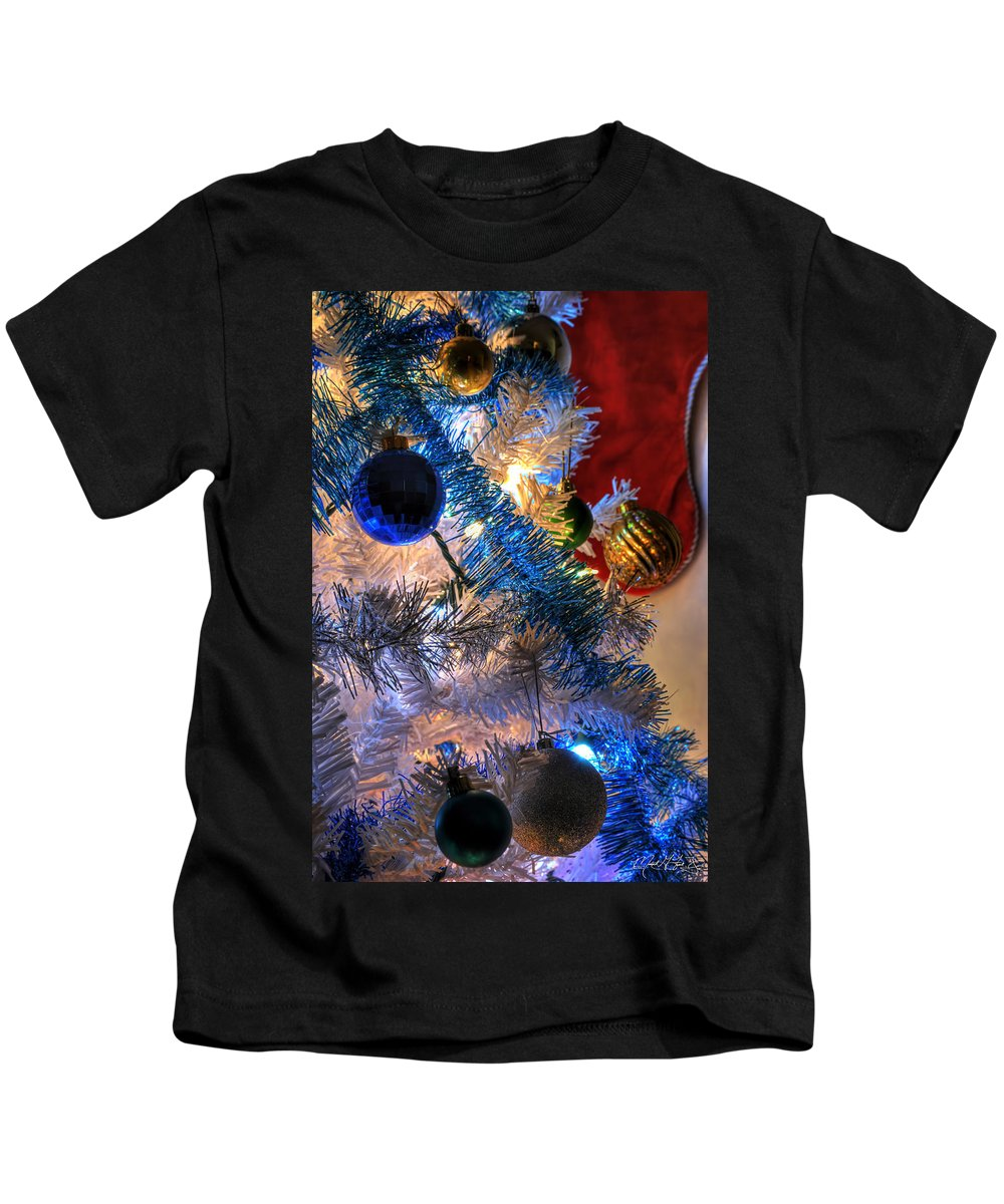 Kids T-Shirt featuring the photograph 003 Silent Night Series by Michael Frank Jr