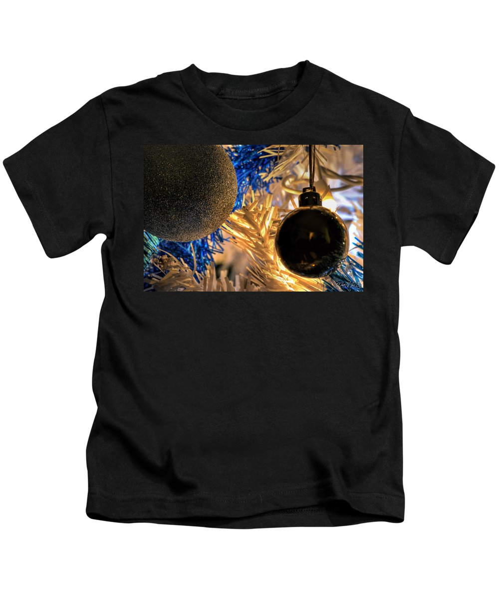 Kids T-Shirt featuring the photograph 001 Silent Night Series by Michael Frank Jr