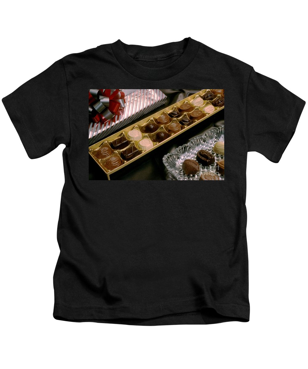 Chocolate Kids T-Shirt featuring the photograph Chocolate by Jerry McElroy