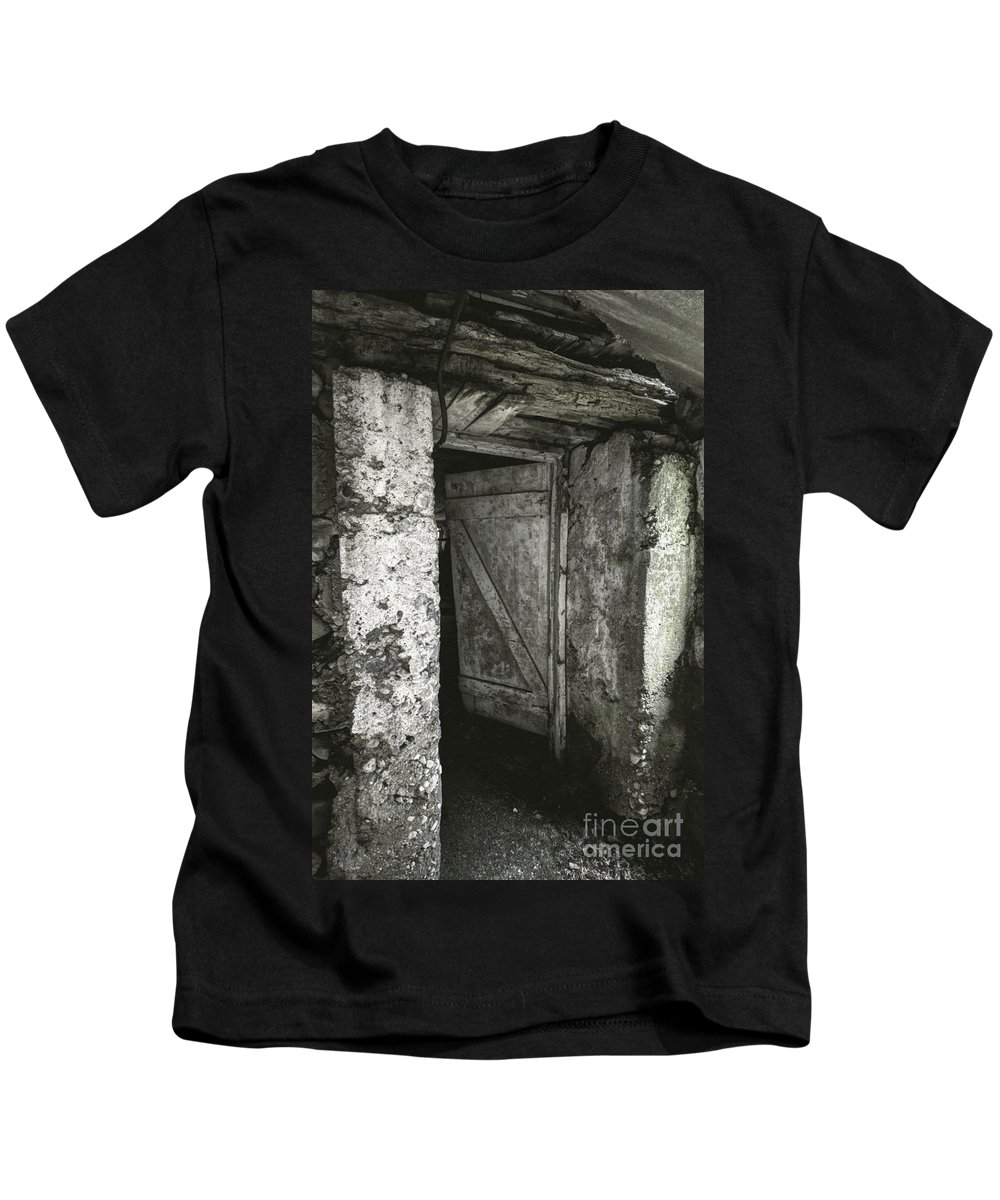 Door Kids T-Shirt featuring the photograph Dare by Margie Hurwich