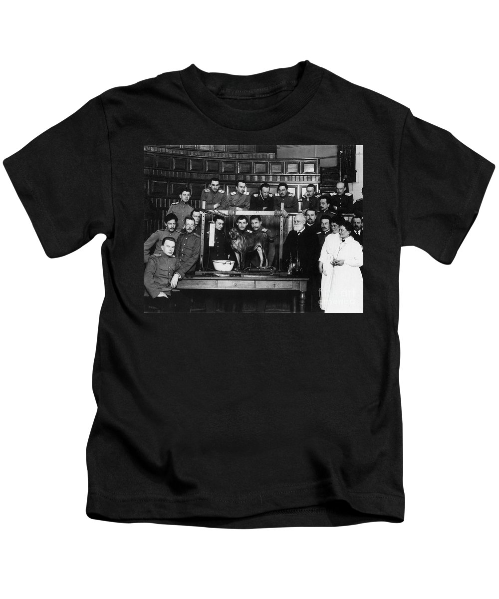1912 Kids T-Shirt featuring the photograph Ivan Petrovich Pavlov by Granger