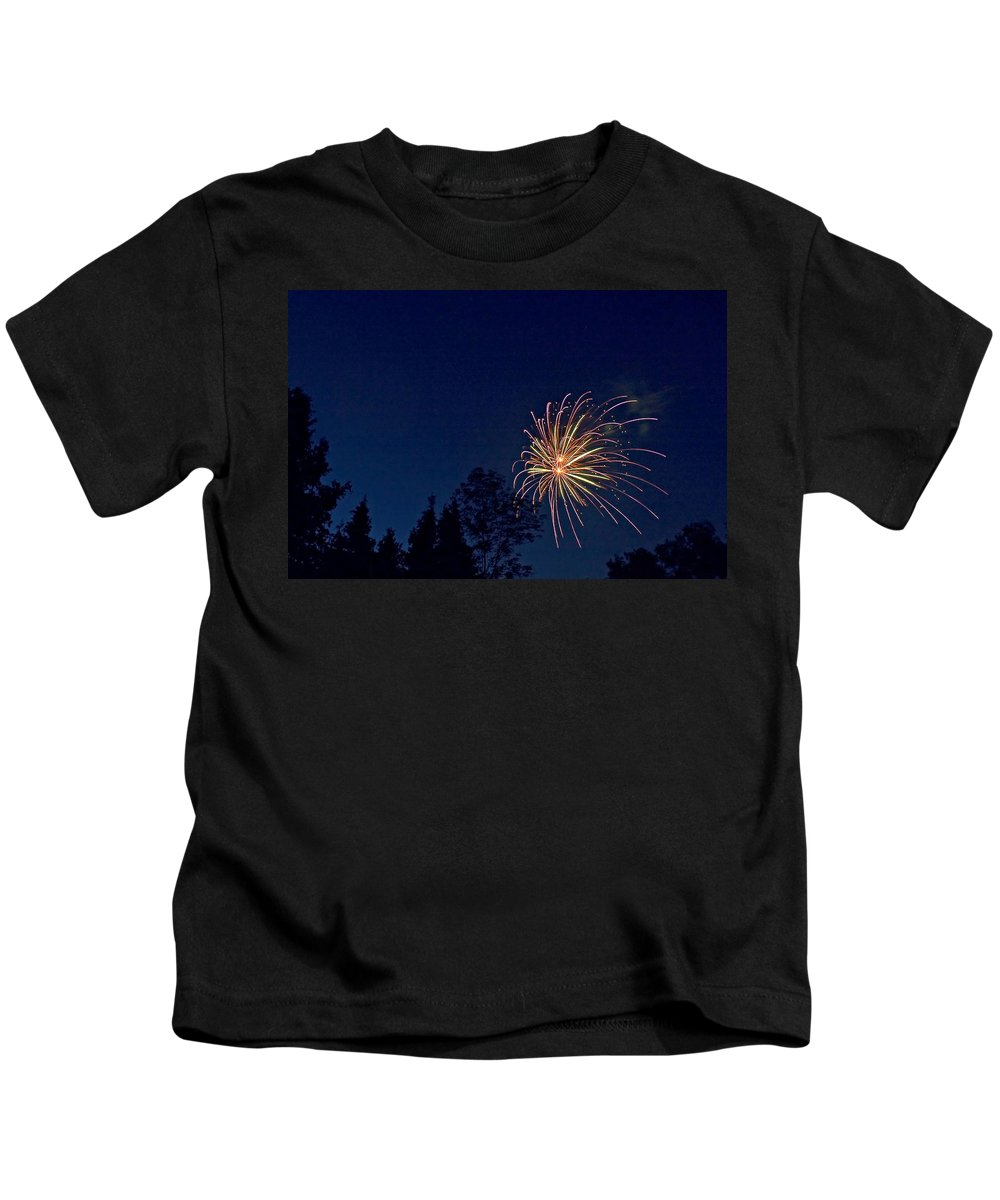 Canada Kids T-Shirt featuring the photograph Party Time by Steve Harrington