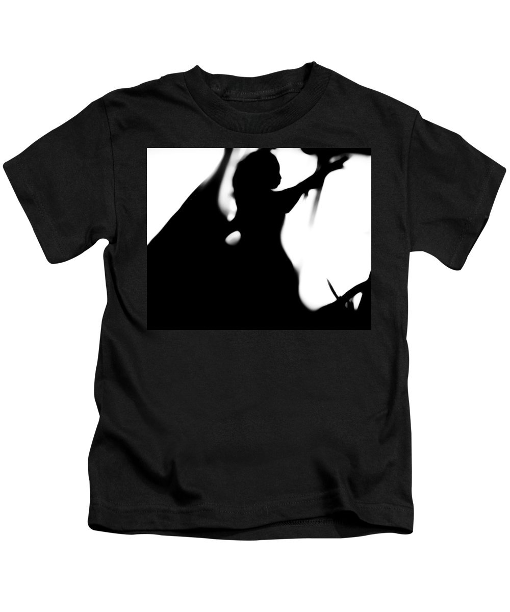 Black Kids T-Shirt featuring the photograph Silhouette by Jessica Shelton