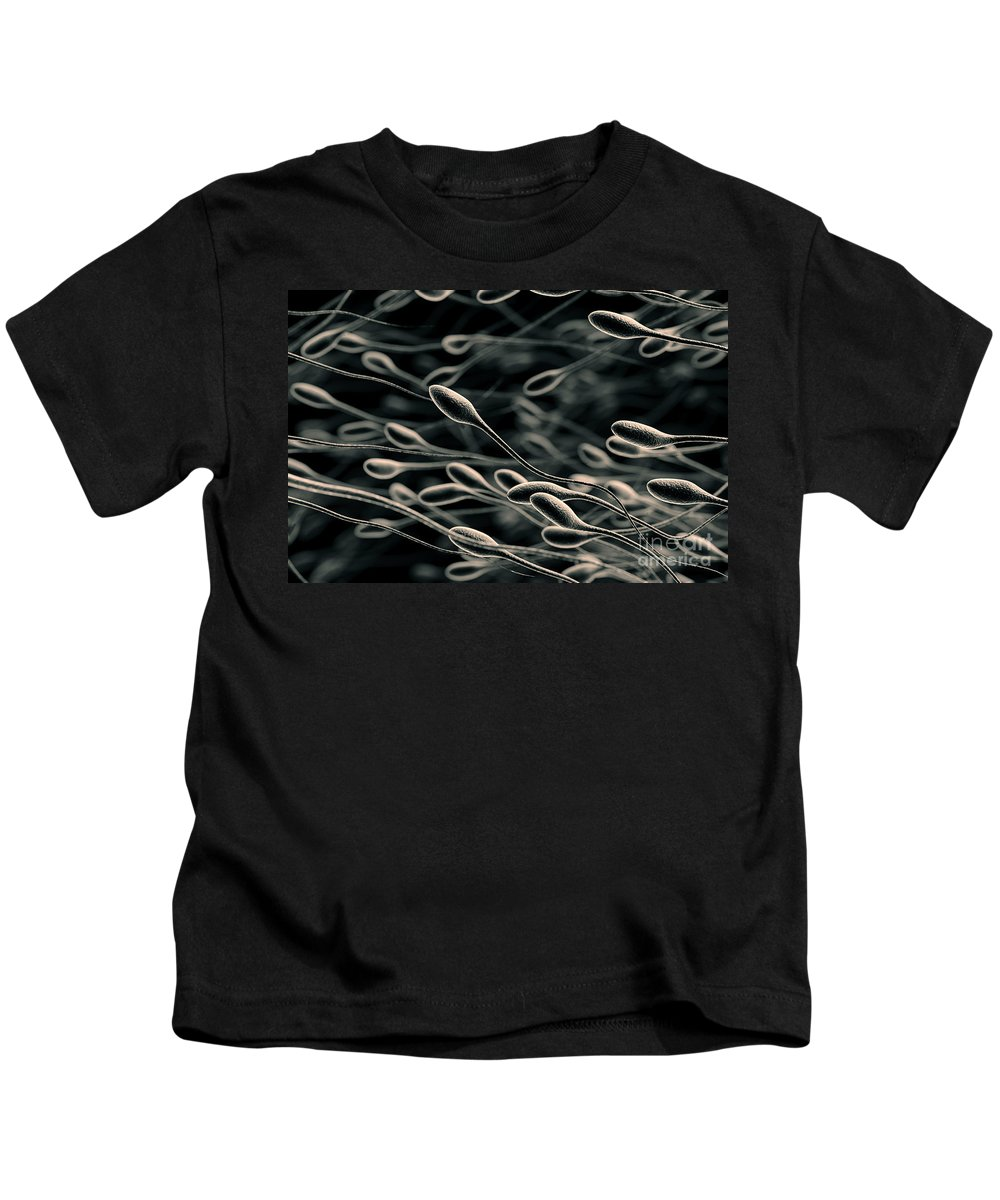 Sperm Kids T-Shirt featuring the photograph Sperm by Science Picture Co