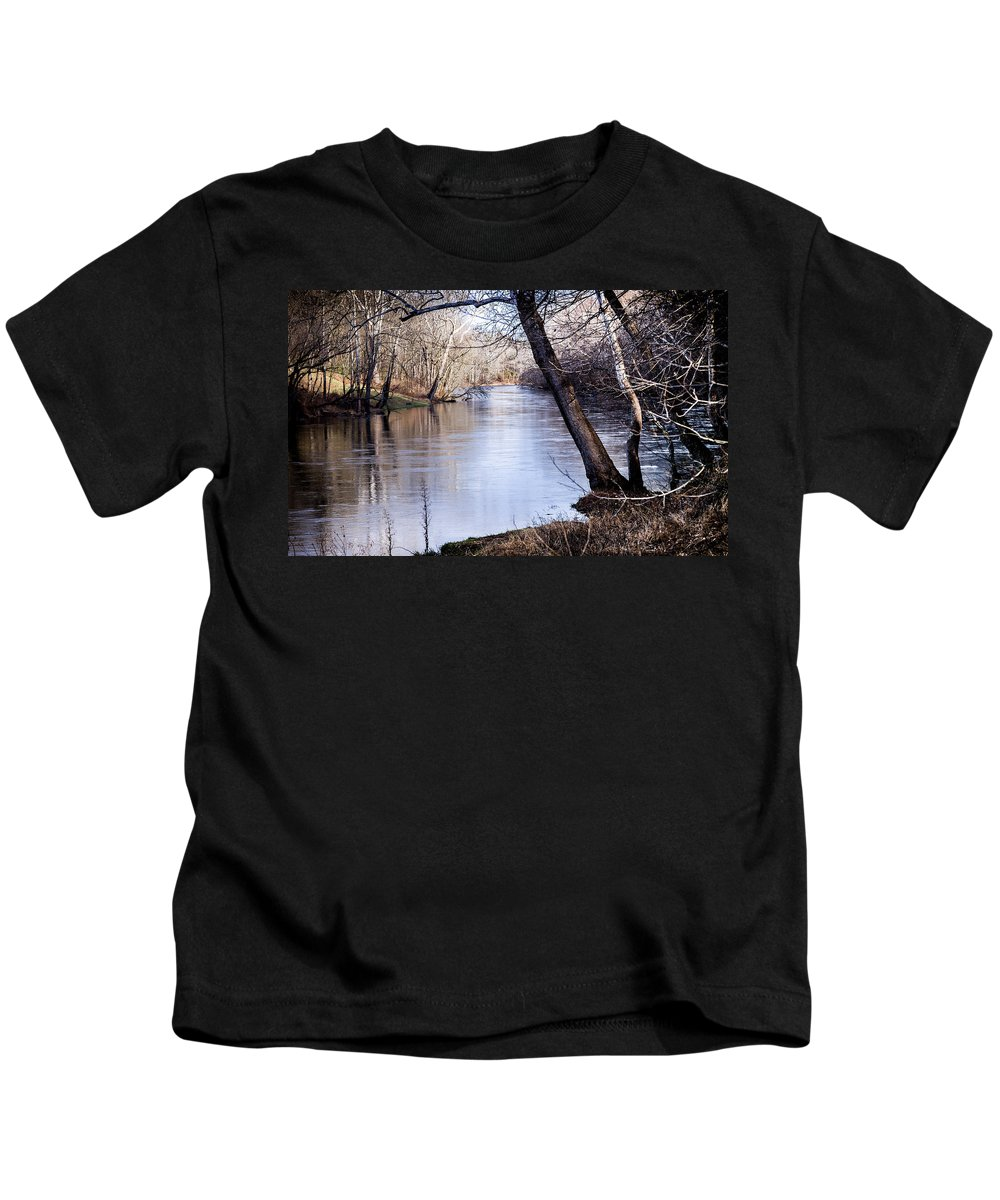 Take Me To The River Kids T-Shirt featuring the photograph Take Me To The River by Karen Wiles