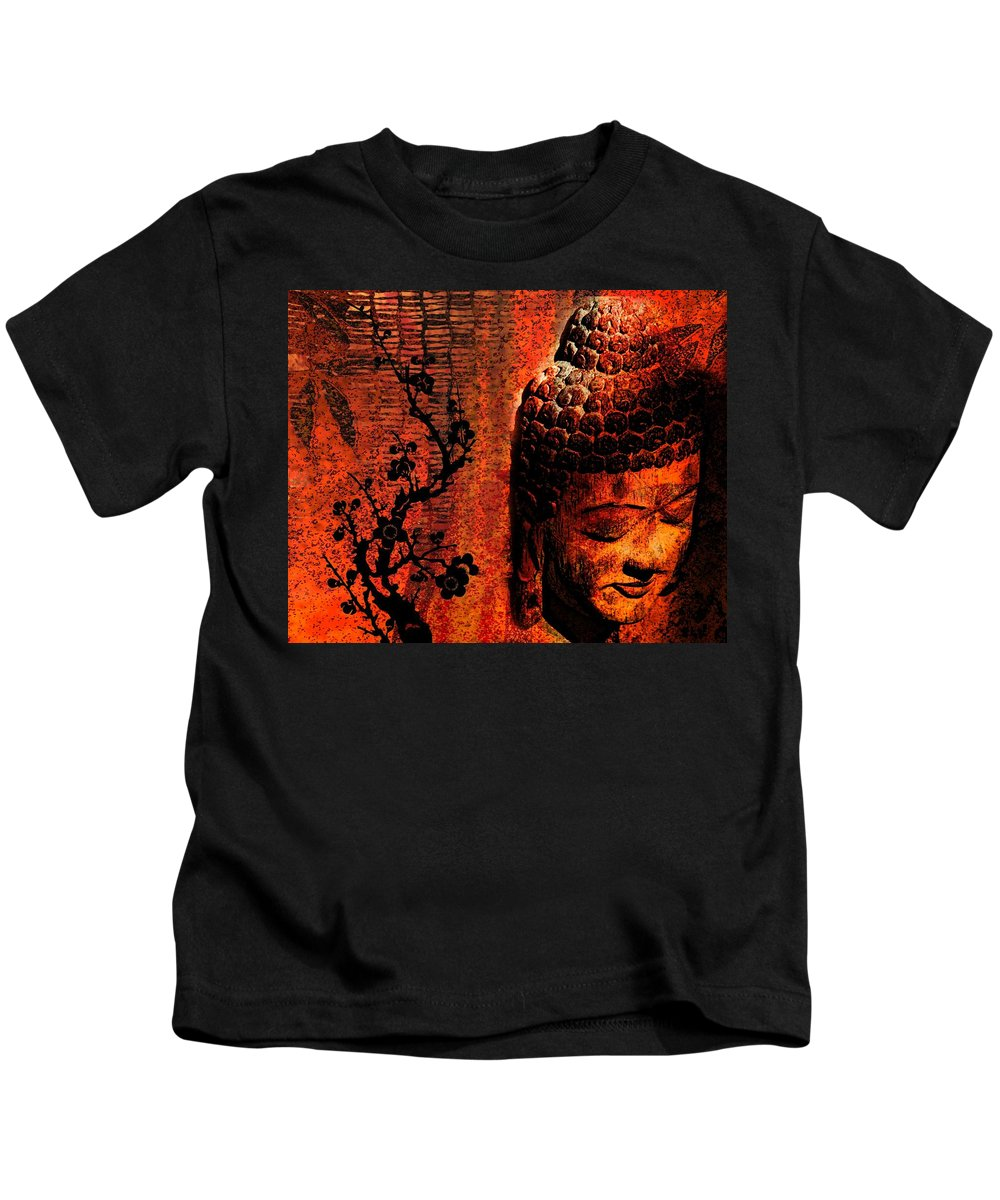 Buddha Kids T-Shirt featuring the photograph The Buddha by Shannon Story