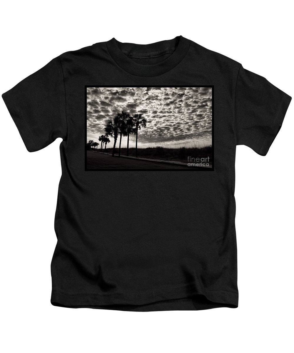 Palm Kids T-Shirt featuring the photograph The Path by Photos By Cassandra