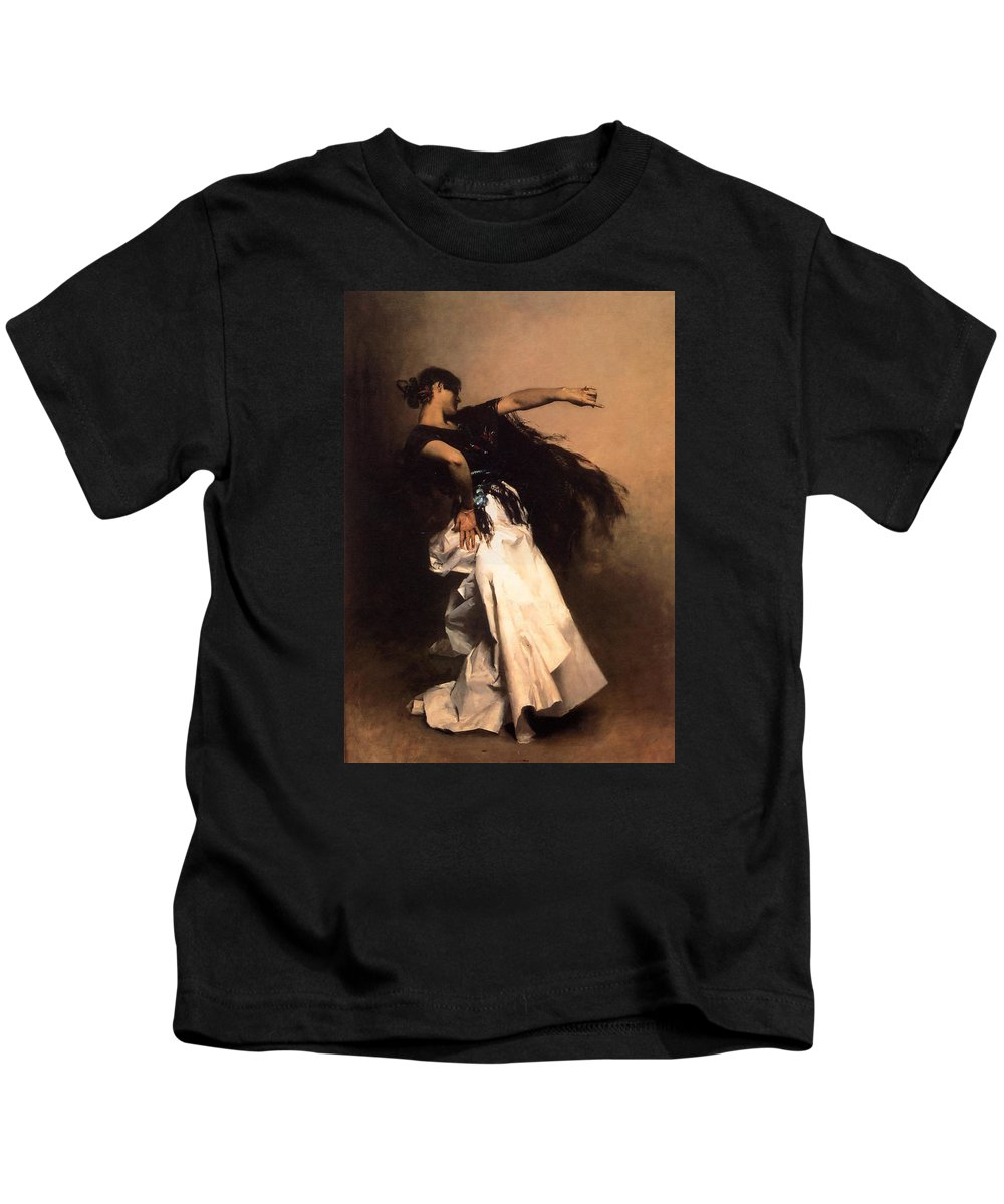 Spanish Kids T-Shirt featuring the painting The Spanish Dancer by John Singer Sargent