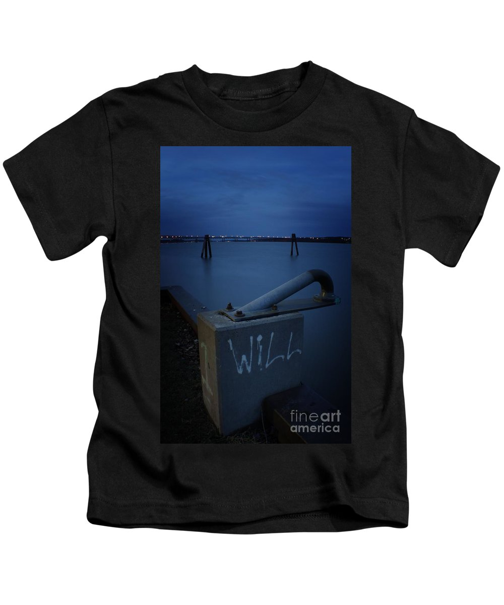 Kids T-Shirt featuring the photograph 1 Will Of The Hudson 2 by Chet B Simpson