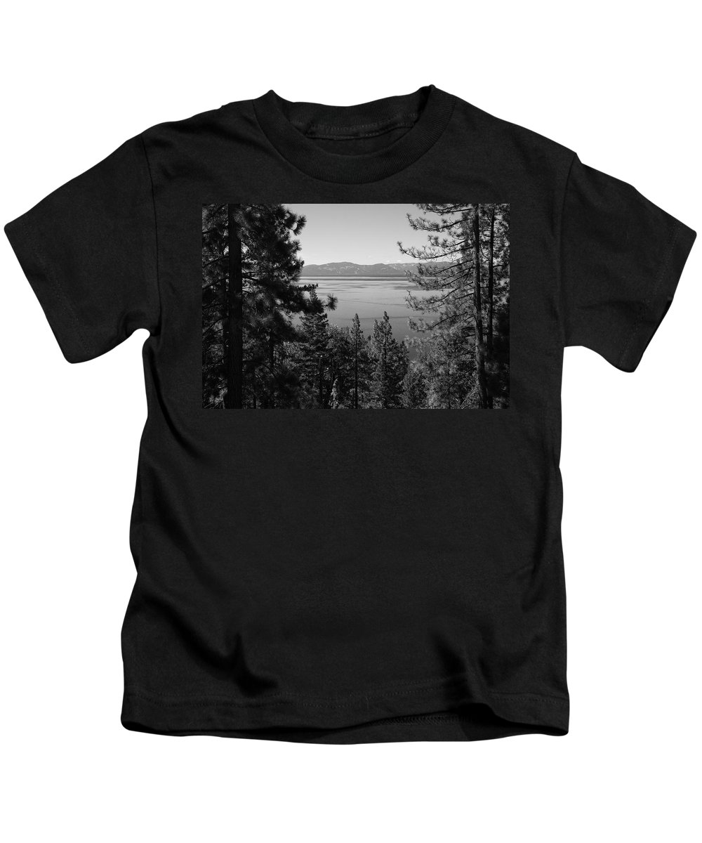 Alpine Kids T-Shirt featuring the photograph Lake Tahoe by Frank Romeo