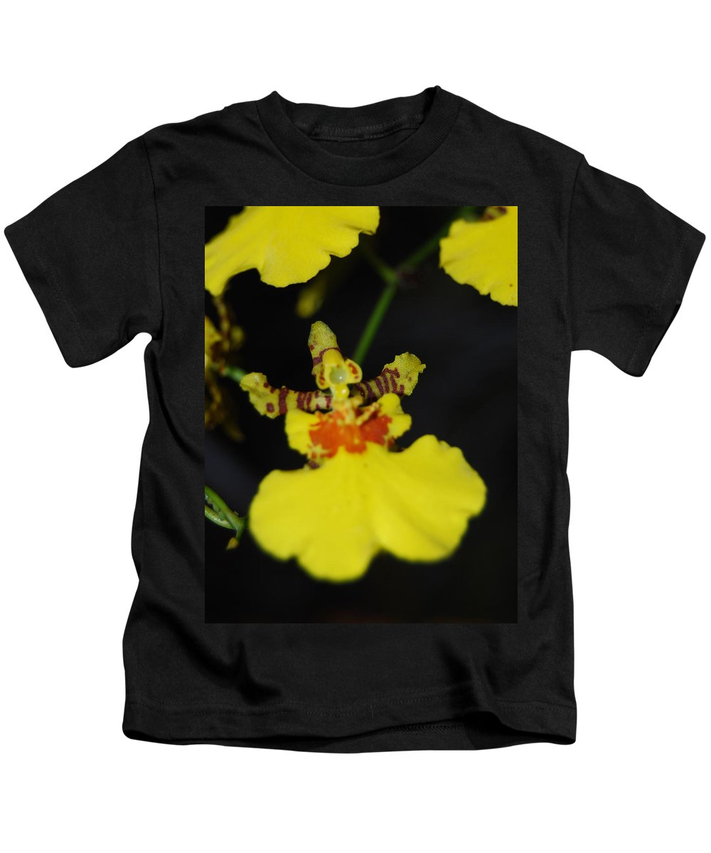 Dancing Lady Kids T-Shirt featuring the photograph Orchid by Robert Floyd