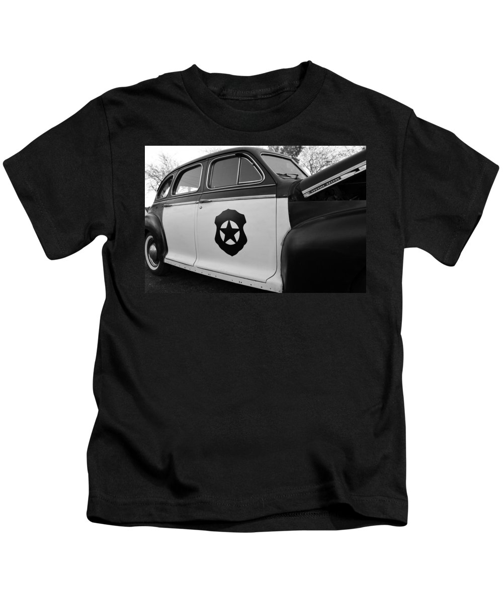 Cop Car Kids T-Shirt featuring the photograph 1941 Chevy Special Deluxe by David Lee Thompson