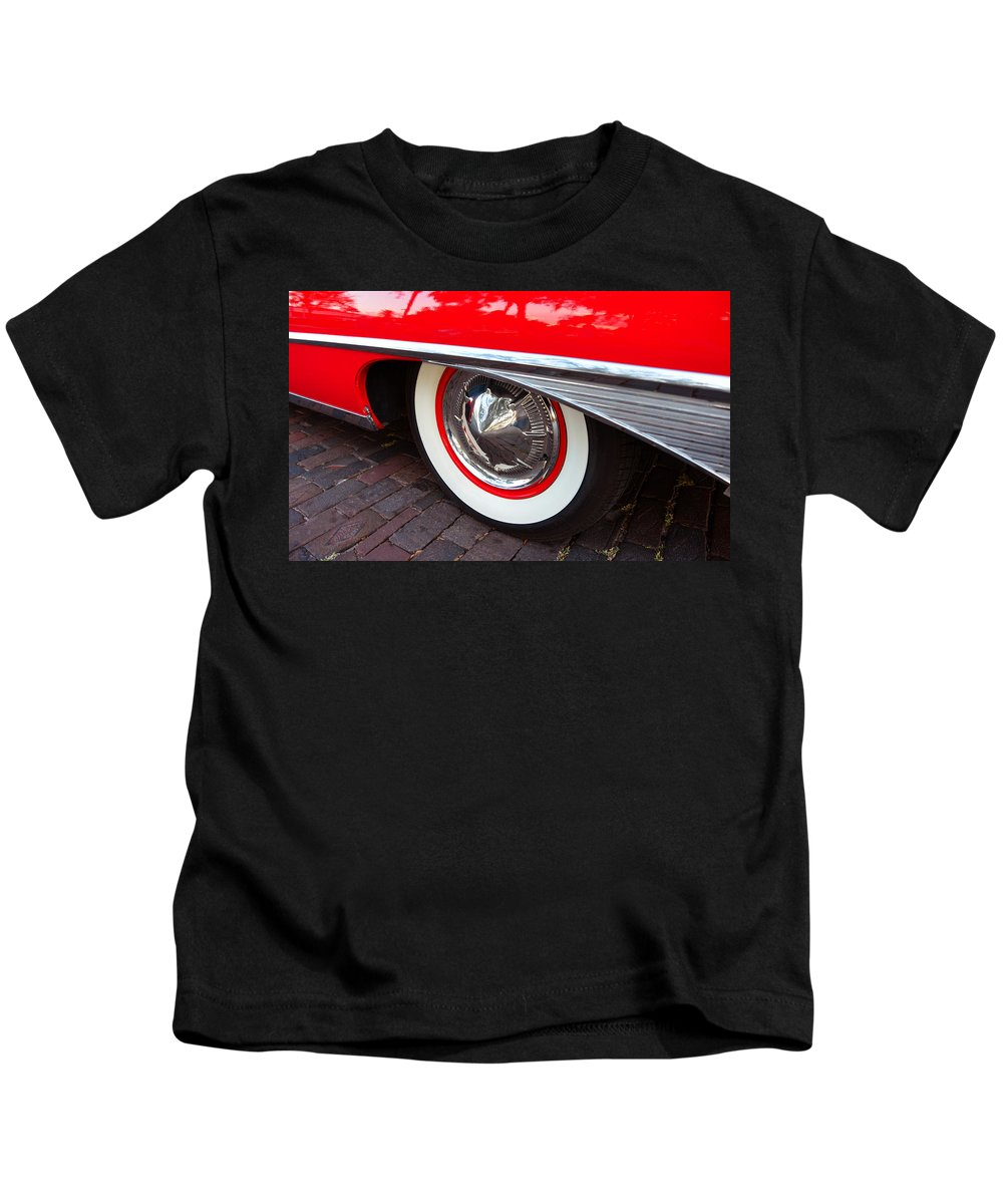 1960 Ford Galaxy Starliner Kids T-Shirt featuring the photograph 1960 Starliner by David Lee Thompson