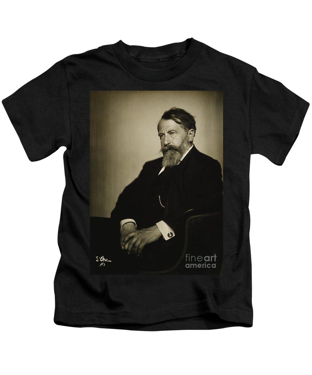 1920 Kids T-Shirt featuring the photograph Arthur Schnitzler by Granger
