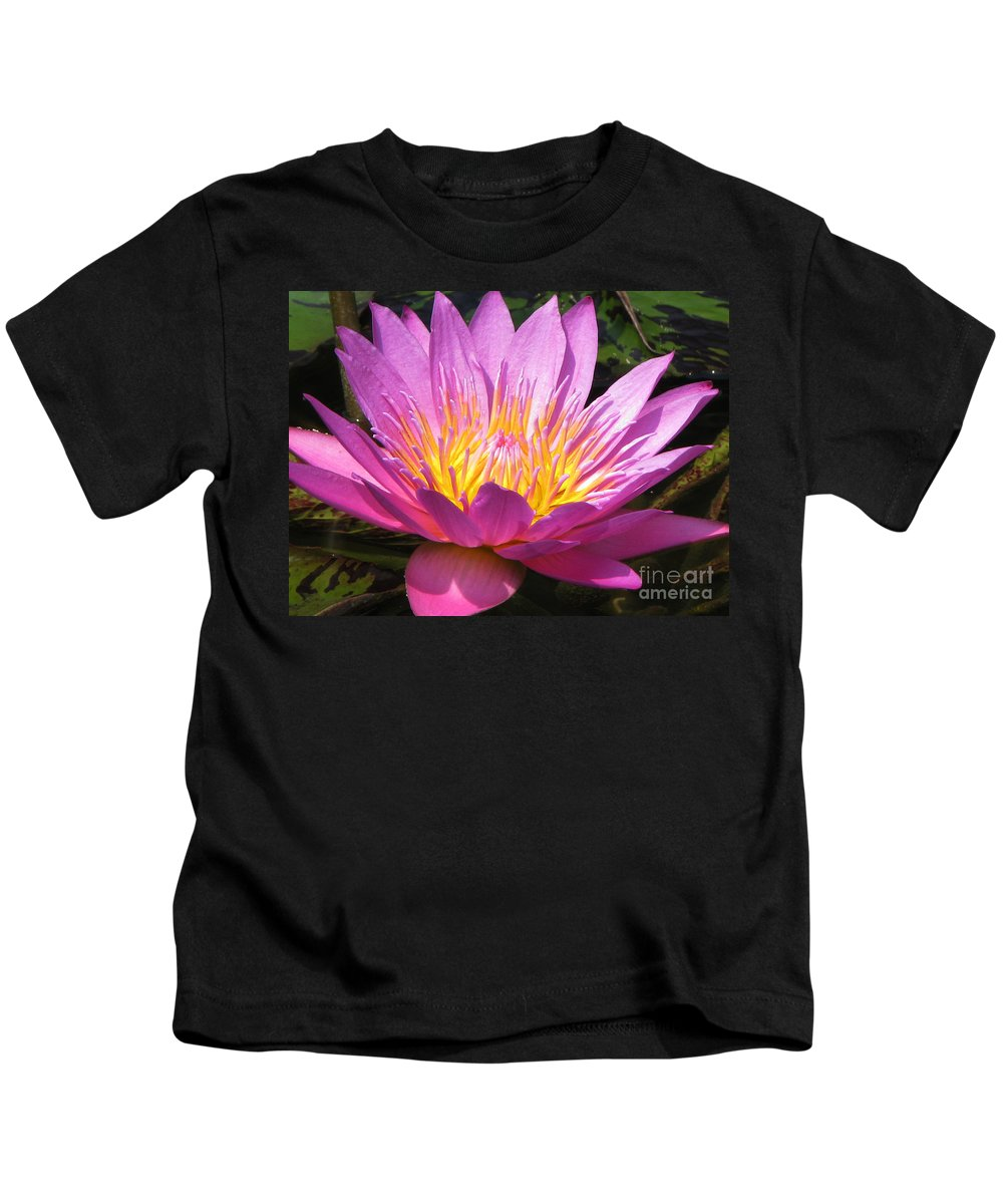 Lilly Kids T-Shirt featuring the photograph It by Amanda Barcon