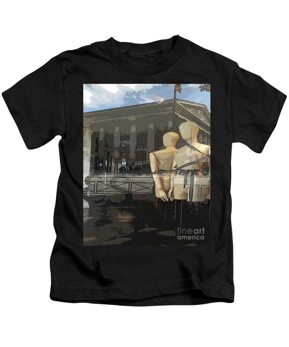 Abstract Kids T-Shirt featuring the photograph Madeline's Sentinels by Lauren Leigh Hunter Fine Art Photography