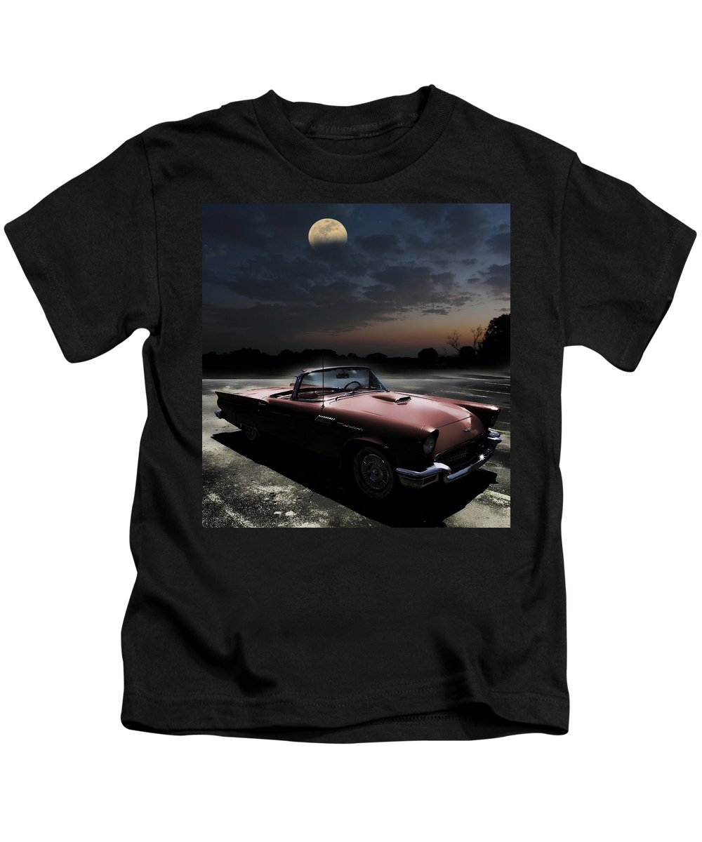 Thunderbird Kids T-Shirt featuring the photograph Sweet Dreams Of Route 66 by Shannon Story