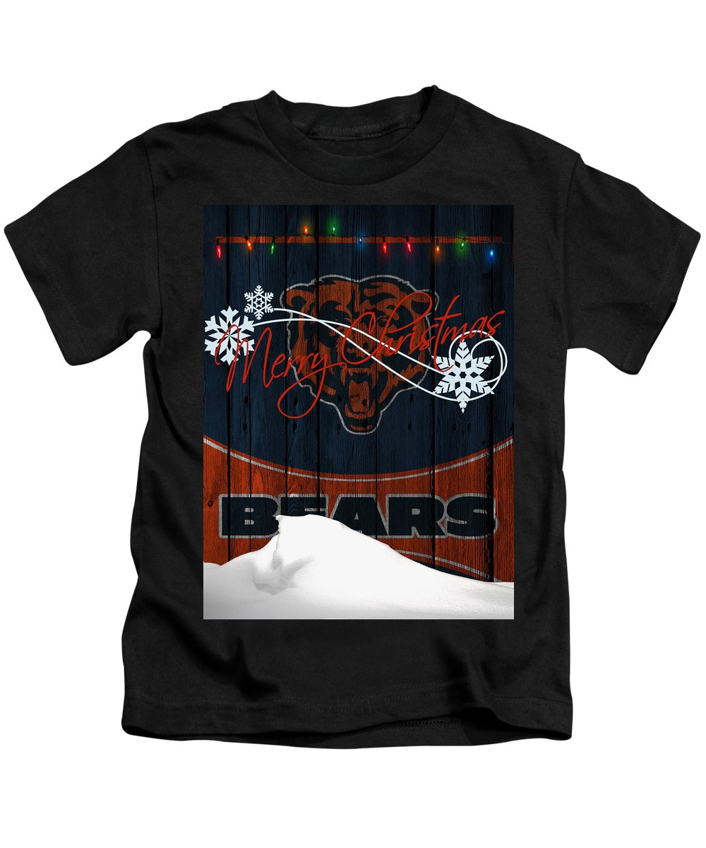 Bears Kids T-Shirt featuring the photograph Chicago Bears by Joe Hamilton
