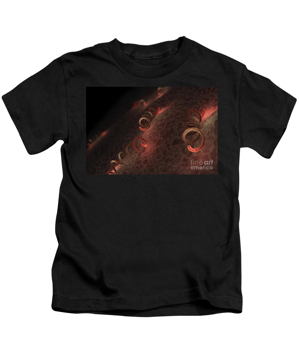 Sti Kids T-Shirt featuring the photograph Syphilis by Science Picture Co