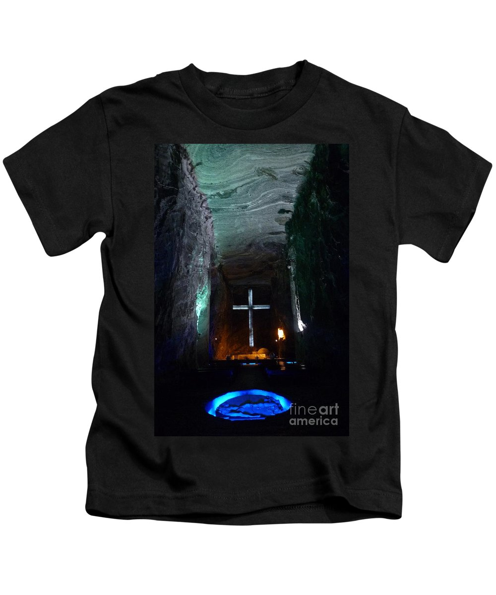 Kids T-Shirt featuring the photograph Zipaquira- Colombia by Karla Weber
