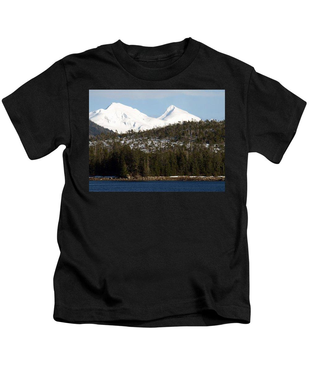 Mountain Kids T-Shirt featuring the photograph Alaskan Landscape by Jessica Foster