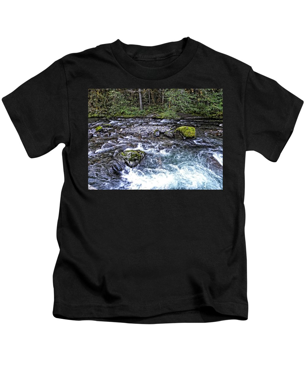 Oregon Kids T-Shirt featuring the photograph Oregon by Image Takers Photography LLC