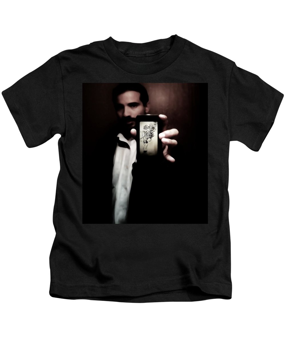 Black Kids T-Shirt featuring the photograph 50 Shades Of Art by Jessica Shelton