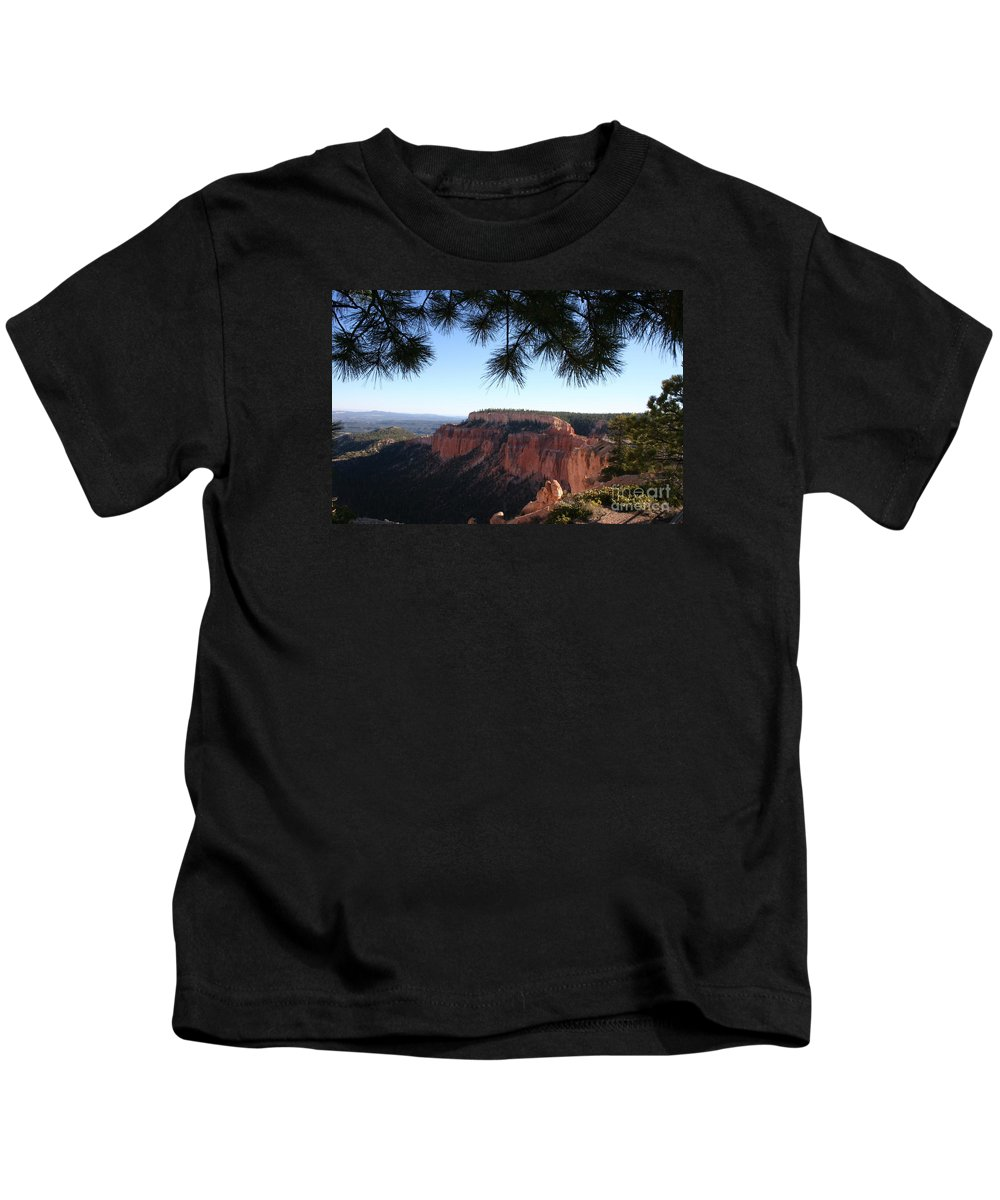 Canyon Kids T-Shirt featuring the photograph Bryce Canyon Overlook by Christiane Schulze Art And Photography