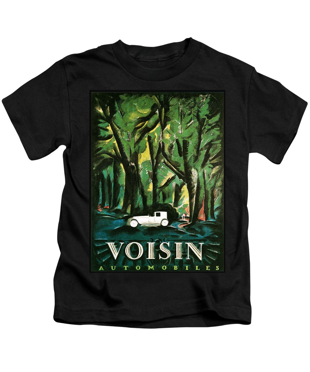 Vision Automobiles Kids T-Shirt featuring the photograph Vision Automobiles by Vintage Automobile Ads and Posters