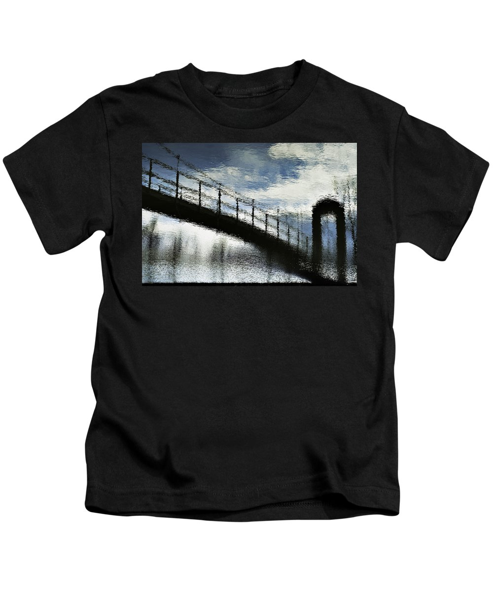 Nature Abstract Kids T-Shirt featuring the photograph Abstract 031510 by KM Corcoran
