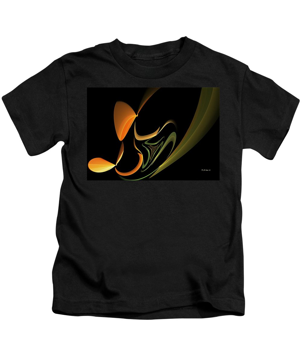 Abstract Kids T-Shirt featuring the digital art Abstract 092713 by David Lane