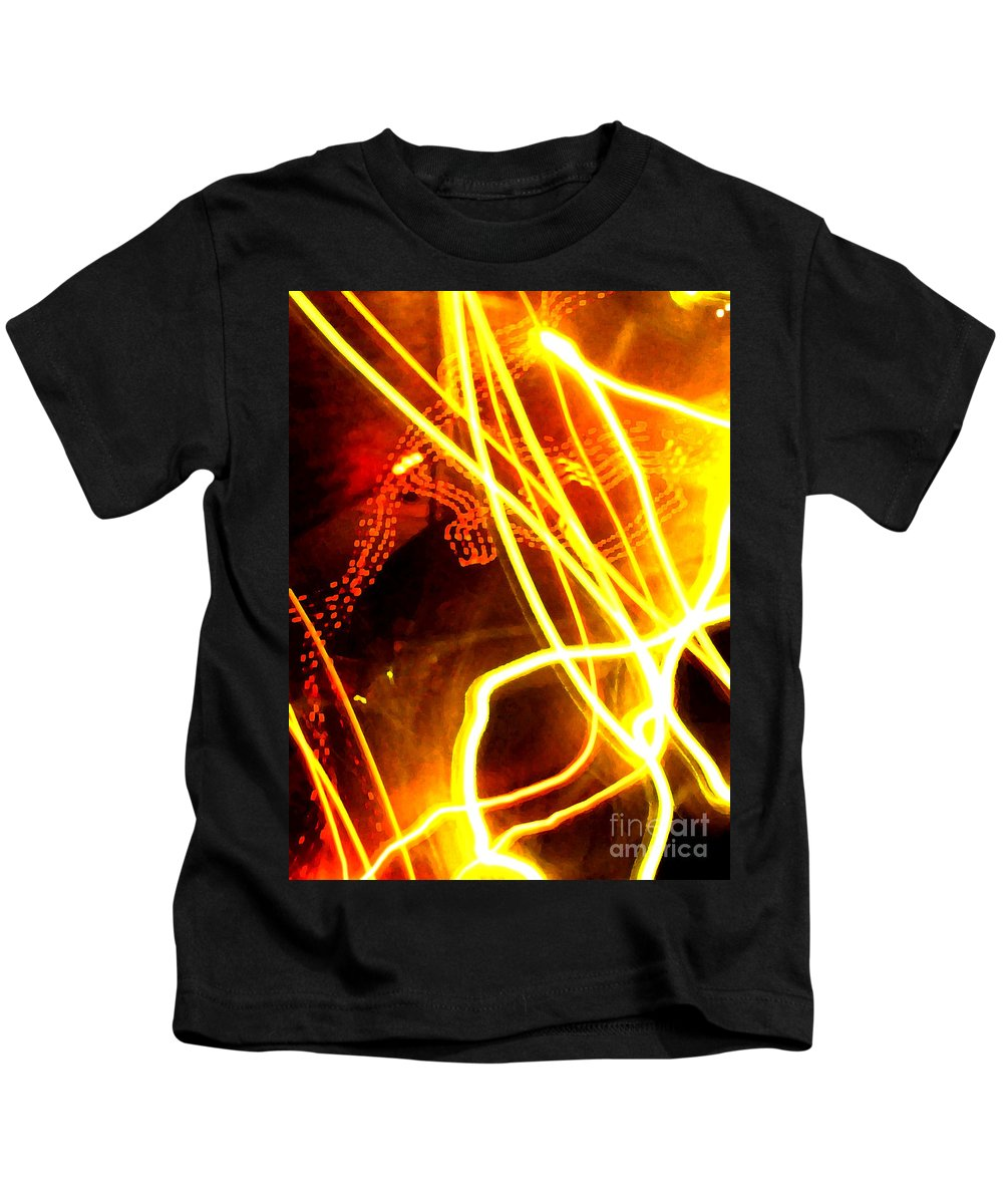 Abstract Kids T-Shirt featuring the photograph Abstract by Amanda Barcon