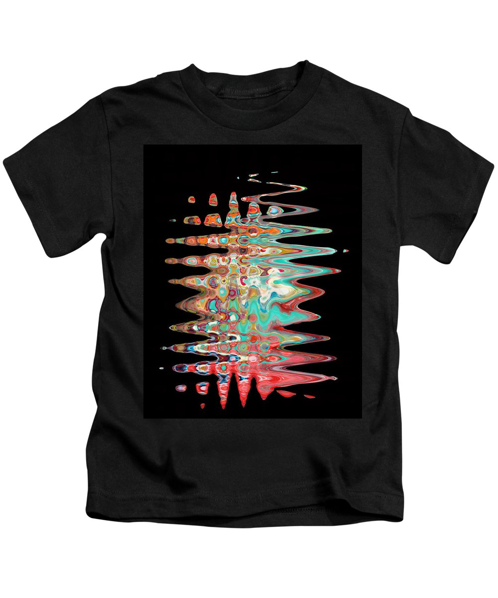 Abstract Kids T-Shirt featuring the digital art Abstract Twenty One Of Twenty One by Carl Deaville