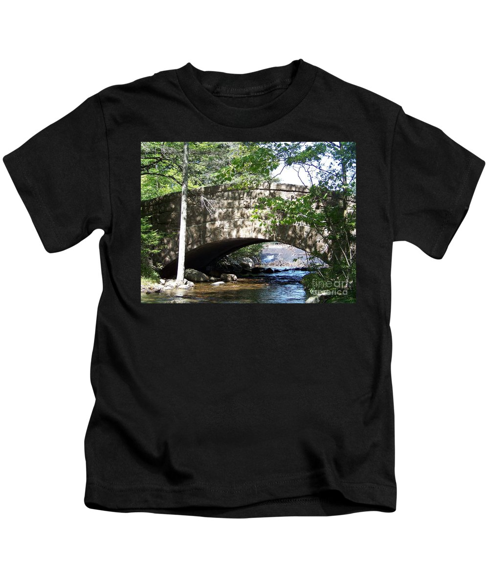 Acadian Stream Kids T-Shirt featuring the photograph Acadian Stream_100_1934 by Joseph Marquis