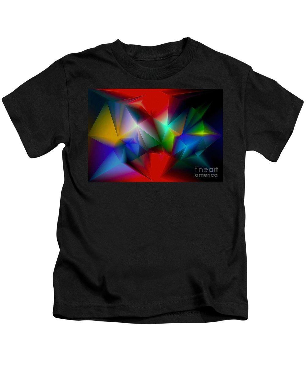 Angel Kids T-Shirt featuring the digital art Aindrea by Raymel Garcia