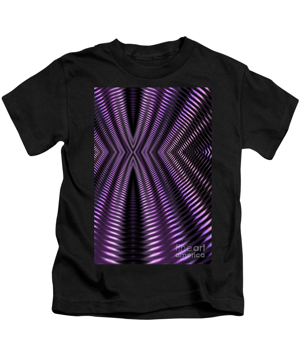 Spring Abstract Kids T-Shirt featuring the digital art Aircooled by John Edwards