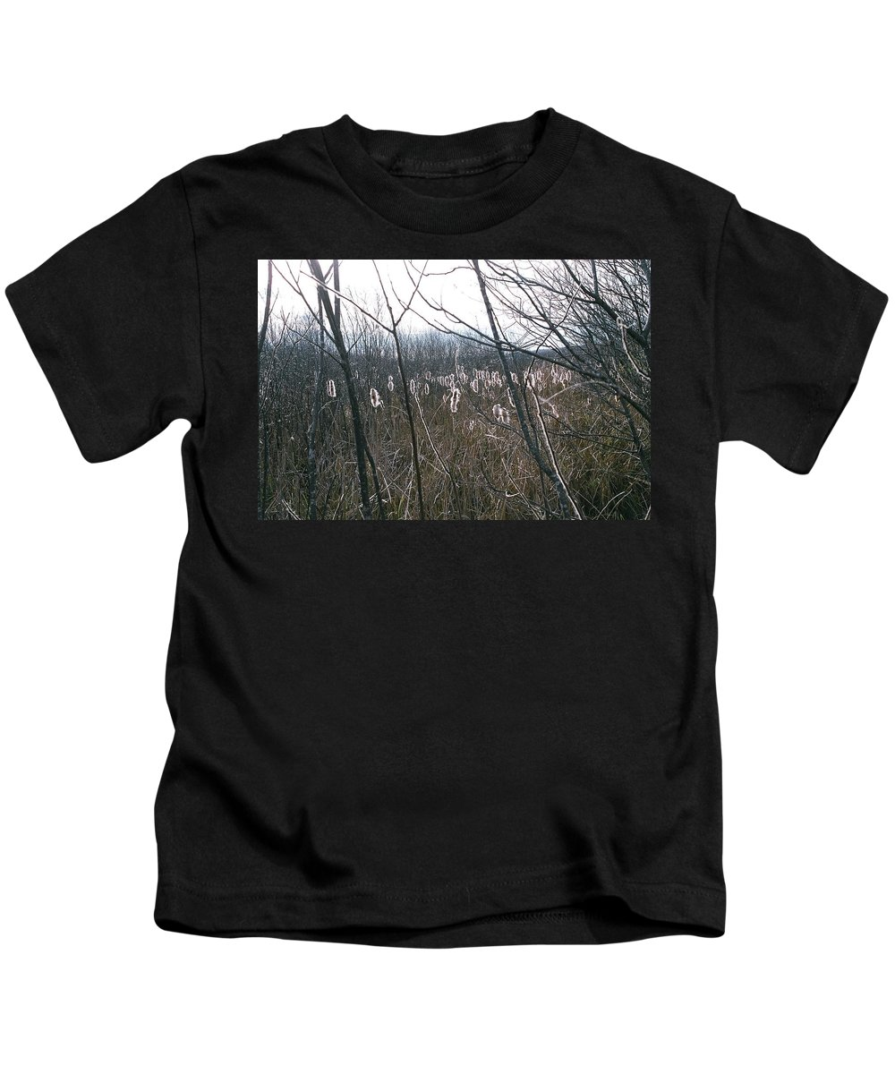 Landscape Kids T-Shirt featuring the photograph All Aglow by David Porteus