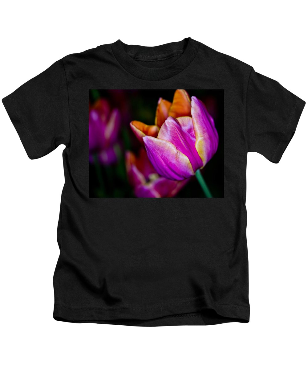 Tulip Kids T-Shirt featuring the photograph All The Way From London by Tom Gari Gallery-Three-Photography