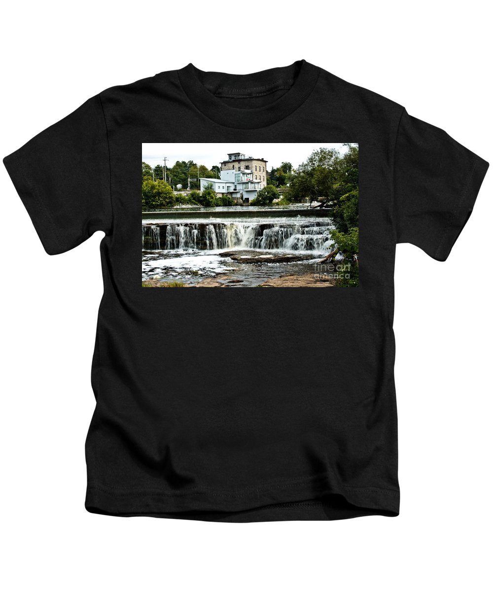 Kids T-Shirt featuring the photograph Almonte In Late Summer by Cheryl Baxter