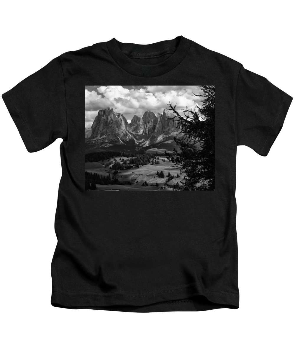 Alpes Kids T-Shirt featuring the photograph Alpes IIi by Michele Mule