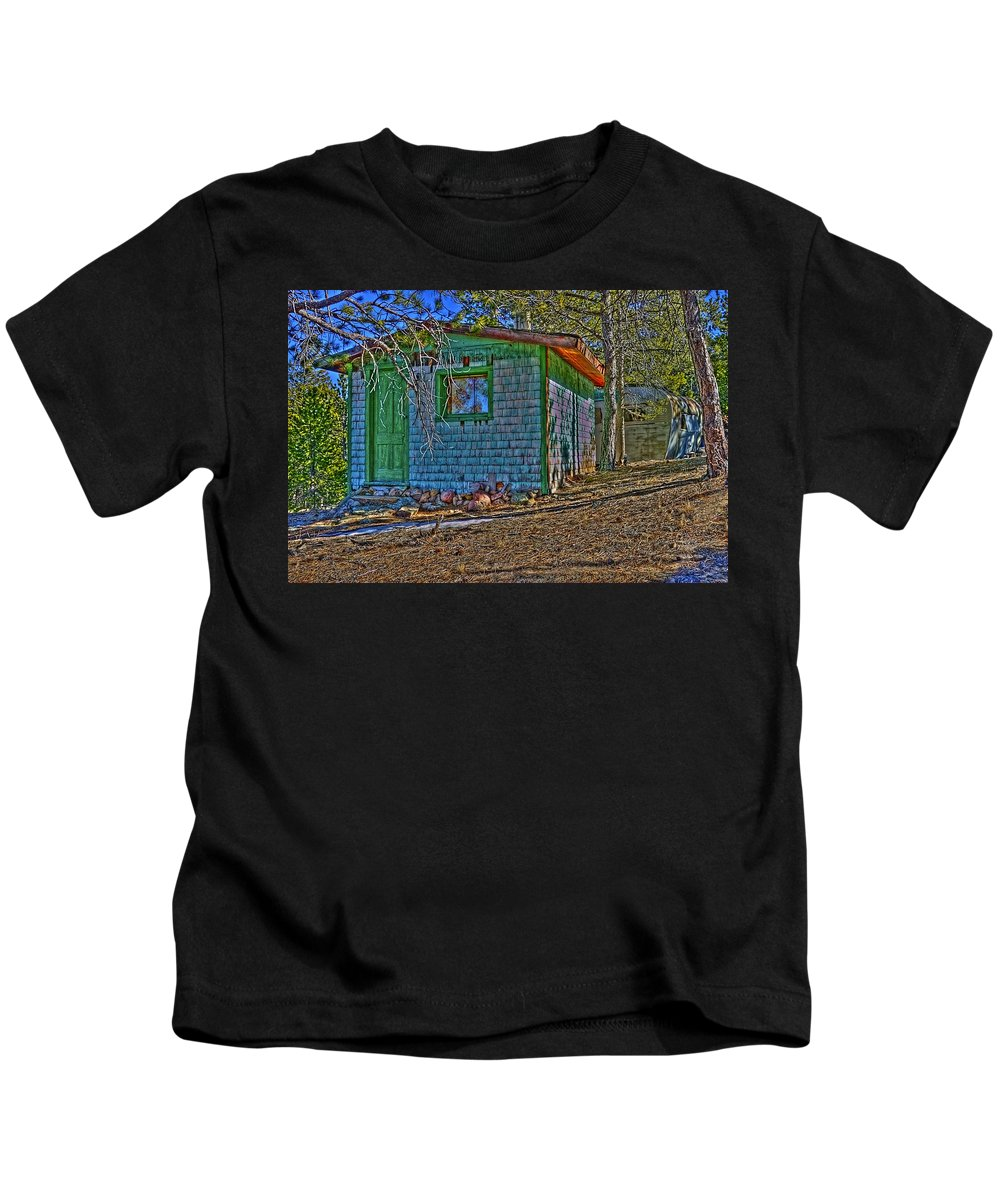 American Dream Kids T-Shirt featuring the photograph American Dream by Greg Wells
