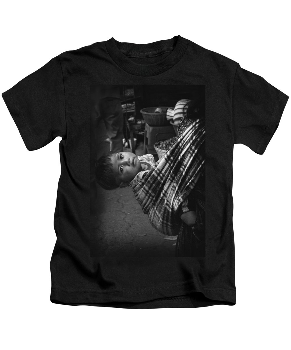 Child Kids T-Shirt featuring the photograph Antigua Child by Tom Bell