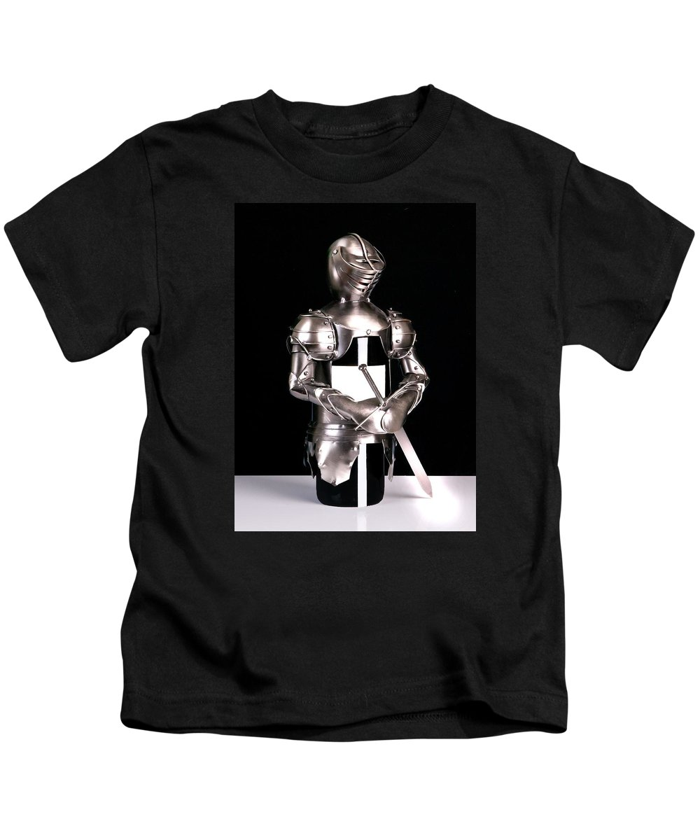 Armour Kids T-Shirt featuring the photograph Armour by FL collection