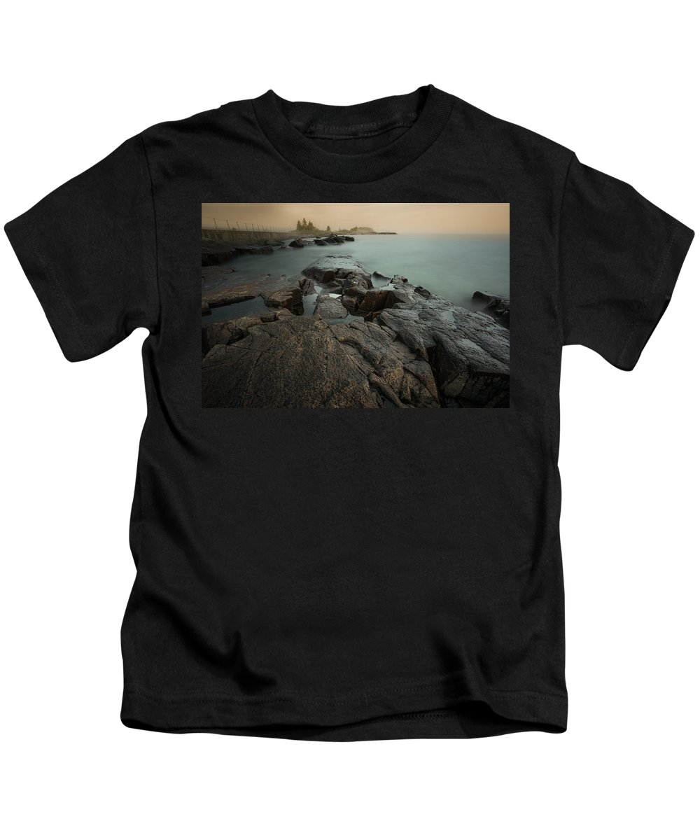 Architecture Kids T-Shirt featuring the photograph Artists Point by Jakub Sisak
