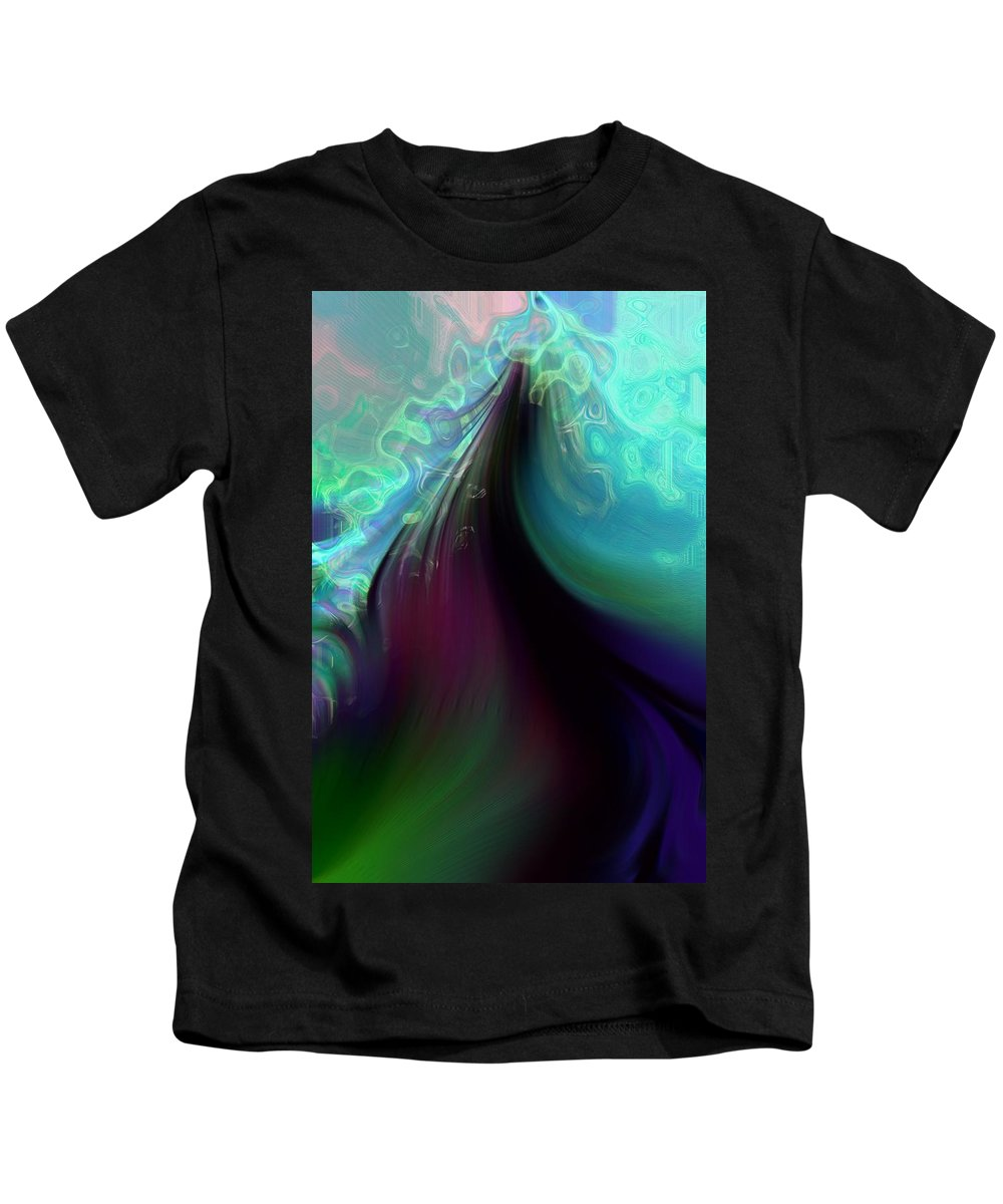 Abstract Kids T-Shirt featuring the photograph Ascending Into Cloud by Richard Thomas