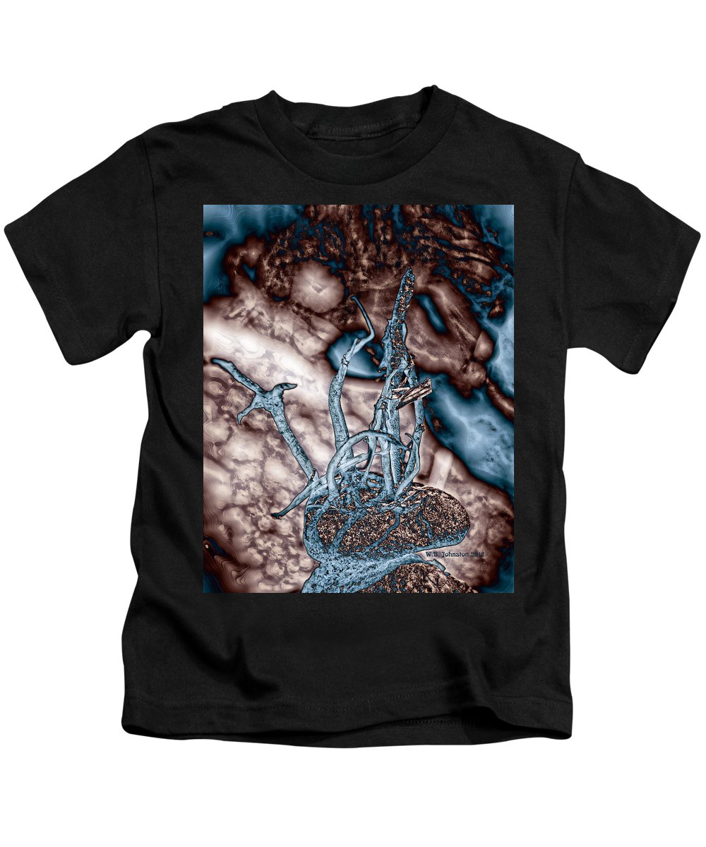 Asteroid Kids T-Shirt featuring the photograph Asteroid by WB Johnston