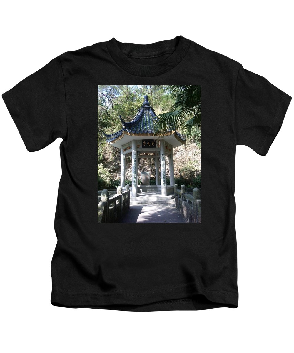 China Kids T-Shirt featuring the photograph At Scholar's Home In Shantou by Rauno Joks